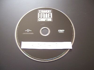 Straight Outta Compton (DVD, 2016) - PERFECT NO SCRATCHES - DISC ONLY - NO BOX O