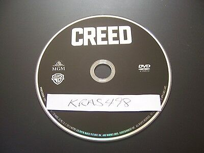 Creed (DVD) - PERFECT NO SCRATCHES - DISC ONLY - NO BOX OR CODES