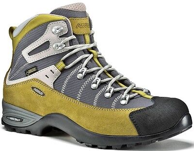 Asolo Mustang Hiking Boots BRAND NEW Women's Size 6.5 Golden Palm/ Stone