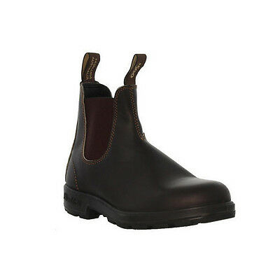 Blundstone Women's STOUT BROWN PREMIUM LEATHER Boots 500