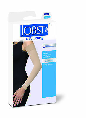 Jobst Bella Strong Armsleeve 15-20 Natural Reg Sz 8