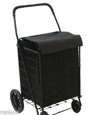 Basket Liner For Cart Shopping Trolley Laundry Grocery Folding Rolling Utility