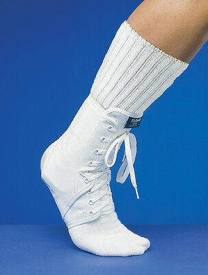 Mcdavid Ankle Guard W/Optional Inserts White Md