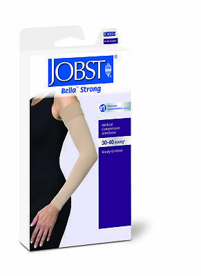 Jobst Bella Strong Armsleeve 30-40 Natural Sz 2 Lng