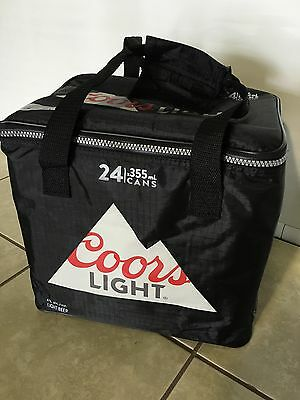 Coors Light  thermal insulated  ZIPPERED COOLER Bag