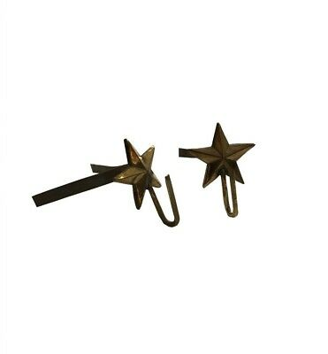 Hook ''Star'' Support Brass  Shako Rackets Cords Pair