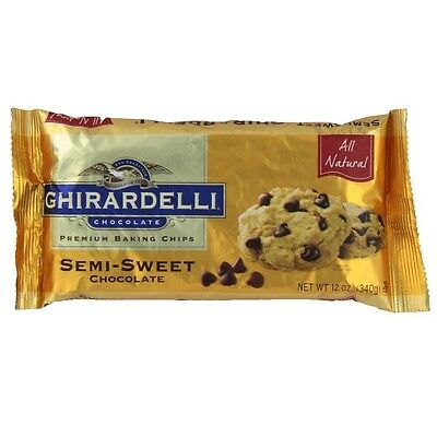 Ghirardelli semi sweet chocolate baking chips 12 oz