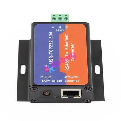 USR-TCP232-304 RS485 to Ethernet TCP/IP Converter with Built-in Webpage