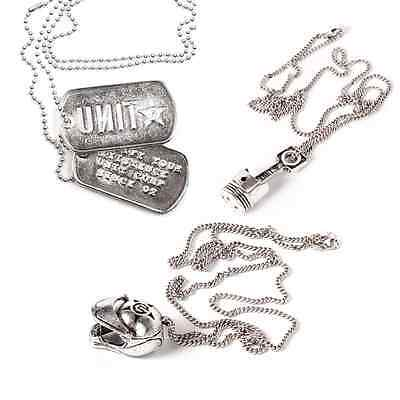 UNIT Necklace -Piston - Tags - Stackhat - RRP $24.99 last one ON CLEARANCE!!