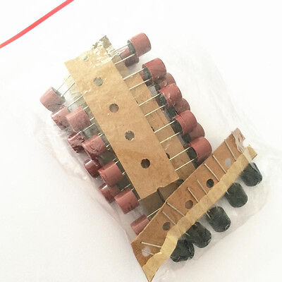 35pcs  250V Cylindrical Capacitive Fuses Kit T0.5/1/2/3.15/4/5/6.3A 7-values