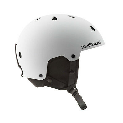 Sandbox Legend Snowboard Helmet White S M L Mens Womens Ski