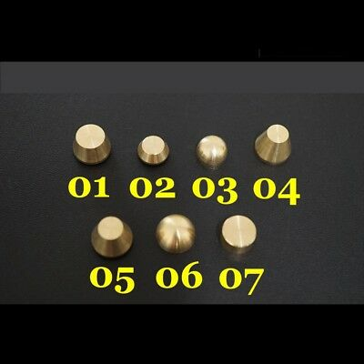 20pcs Leather Craft Solid Brass Screw Luggage Punk Nail stud Rivet accessories