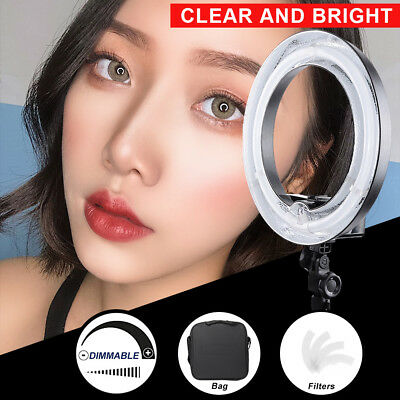 "19"" Fluorescent 75W 5500K Dimmable Ring Light Portrait Light Photo Video Studio"