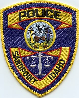 Sandpoint Idaho Id Police Patch