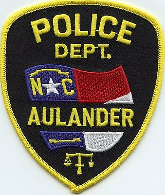 Aulander North Carolina Nc Police Patch