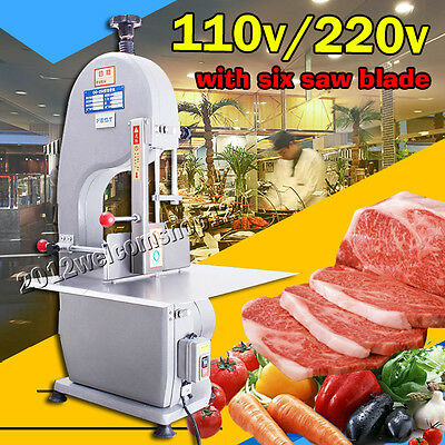 Electric Bone Saw Machine Frozen Meat Frozen Fish Steak Cutting Machine 110V