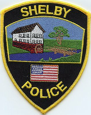 Shelby Wisconsin Wi Police Patch