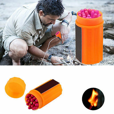 20PCS Windproof Waterproof Emergency Survival Lighter Extended length Matches