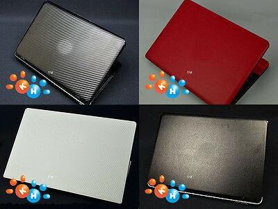 New KH Laptop Carbon Leather Sticker Skin Cover for Dell Inspiron 15-7000 7560