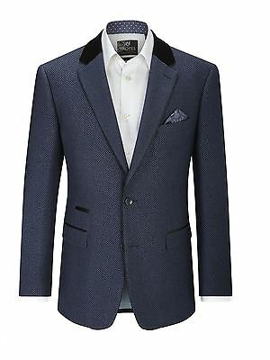 """SKOPES Shoreditch Contemporary Navy Sports Jacket in Chest 44"""" to 62"""", S/R/L"""