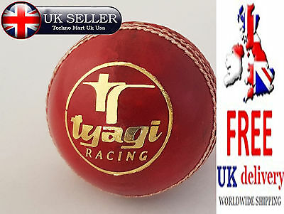 Premium Quality 5 1/2 Oz Hand Stitched Leather Match Cricket Balls PACK 1,2,4,6