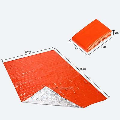 2.1x1.3m Thicken Warming Emergency Blanket Outdoor Survival First Aid Medical