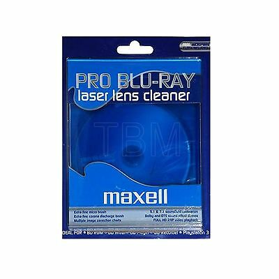 Maxell Pro Blu-Ray Lens Cleaner for  Play Station, BD-R players etc...