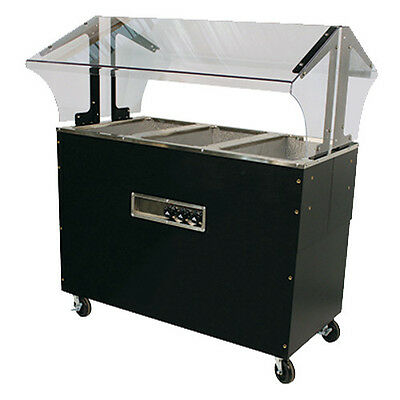 "Advance Tabco B3-120-B-SB 47"" Electric Portable Hot Food Buffet Table"
