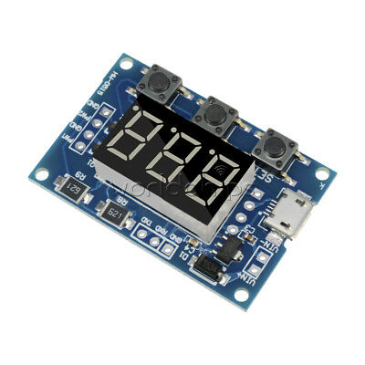 2CH Independent PWM Generator LED Digital Tube Duty Cycle Pulse Frequency Module