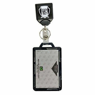 Specialist ID Durable Badge & Key Reel with 13.56mhz RFID Blocking Card Holder