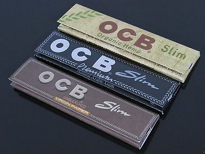 OCB 110mm King Size Tobacco Rolling Papers Combo