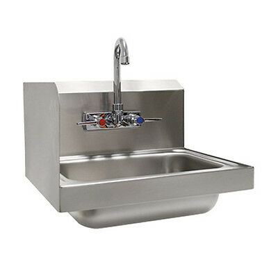 "Advance Tabco 7-PS-66L 14"" Wall Model Hand Sink"