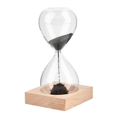 Magnetic Sand Timer Hourglass Desktop Toy Fun Office Gift Magentic Clock Decor !
