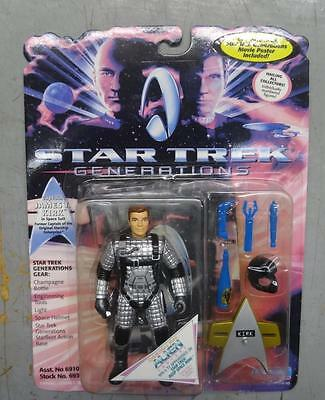 St Generations - Space Suit Kirk - Serial Number On Foot - 1994 Playmates #nm258