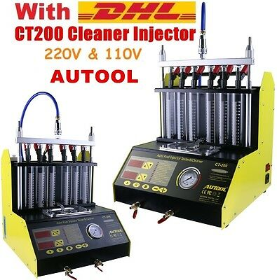 AUTOOL CT200 Petrol Car Motorcycle Injector Cleaner Injection Better than CT100