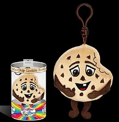 Whiffer Sniffers - Chunky Chuck Scented Plush Toy Backpack Clip New