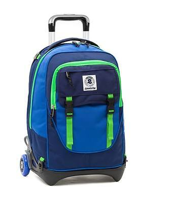 Backpack Trolley INVICTA 32 LT Total disappearing shoulder-straps! School Travel