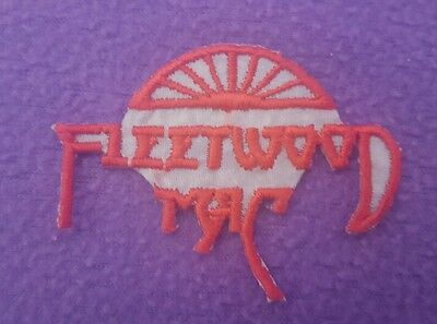 Vintage Fleetwood Mac Logo Embroidered Iron On Patch • New • Rock •