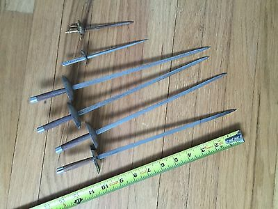 5  Japan Made Small Swords-- 1 Vintage  Other, Total Of 6