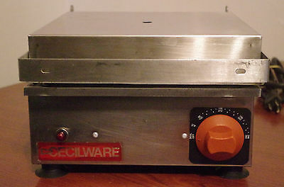 Cecilware Grooved Commercial Panini Press Single SASMX-100001 W5