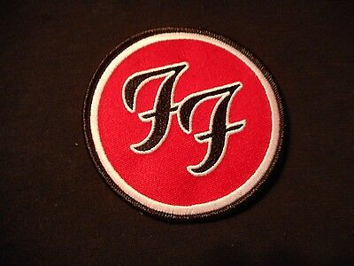 Foo Fighters Embroidered Iron-On Patch