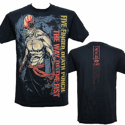 FIVE FINGER DEATH PUNCH - WAY OF FIST NINJA - Official T-Shirt - New S M L XL
