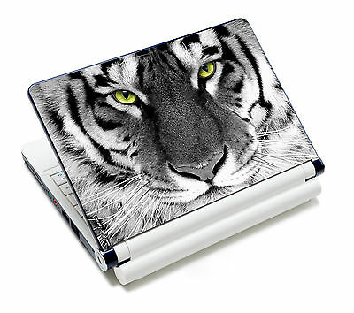 "Tiger Laptop Decal Sticker Skin Cover For 15'' 15.6"" Sony HP Dell Acer Toshiba"