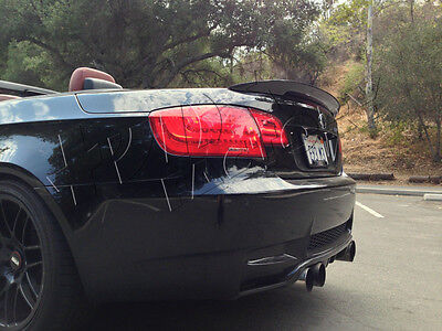 Carbon Fiber BMW E93 Converible 3-Series P Style Real Boot Spoiler UK Seller