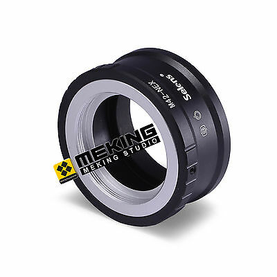 Photography Lens adapter ring for M42 mount lens to Sony NEX-7 NEX-6 etc Camera