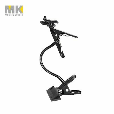 Photo Studio Magic Metal Clamp Clip with Flexible Arm for Lighting Light Stand