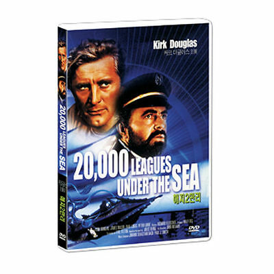 20,000 Leagues Under the Sea (1954) Kirk Douglas, James Mason DVD *NEW