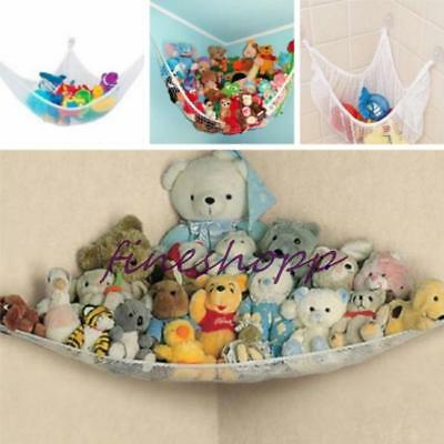 Large Toy Soft Teddy Hammock Mesh Baby Child Bedroom Tidy Storage Nursery Net FI