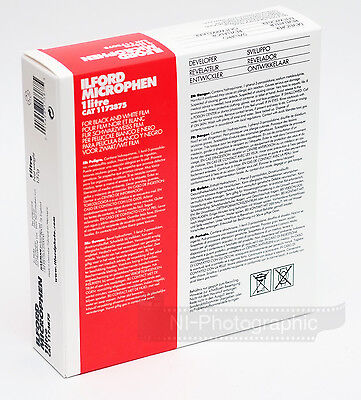 Ilford Microphen 1L Black and White Powder Film Developer Free 1st Class Postage