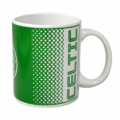 Official Licensed Football Product Celtic FC Mug Cup Fade Coffee 11oz Gift New